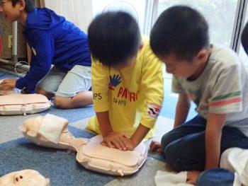 21日木曜日「しぜん」CPR? 自分の心臓の音?