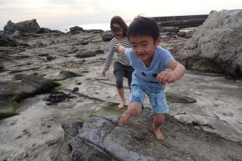 TIDE POOL 木曜日「しぜん」 砂浜の運動は通常の運動に比べて3倍以上の強度があります。