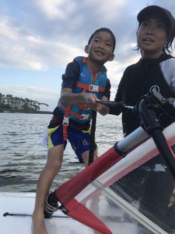 金曜日「しぜん」 ウインドサーフィンに挑戦!!