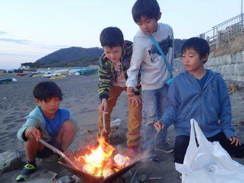 TIDEPOOL 5週目に付きアフターお休み! 焚火してきました!!!