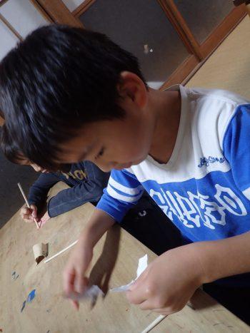 12月1日金曜日 しぜん 最終段階の竹箸!