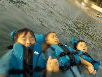 今日も子供たちのいい笑顔が海に広がりましたね~ 最高の時間でした。