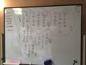 火曜日、じぶんクラスの 鈴木佳由です。
