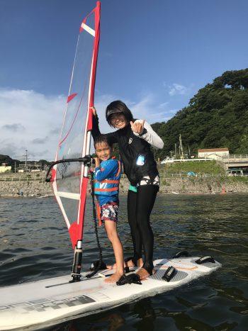 親子ウインドサーフィン体験会