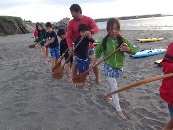 木曜日「しぜん」5月からカヌーの活動ですが… 風には勝てませんでした。