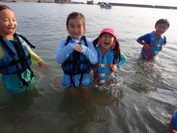 木曜日「しぜん」クラス 梅雨前の太陽!!海へGo