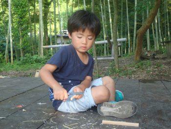 竹箸づくり!