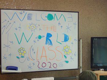 Hello! Bonjour! こんにちは!Welcome Back To The World Class!!! おかえり、ただいま、せかいクラス❗❗🌏🌿