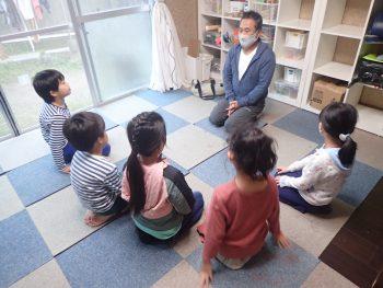 10月27日(火)のクラスは、休暇をいただいている今村にかわって、金子しゅうめいが代打担当。